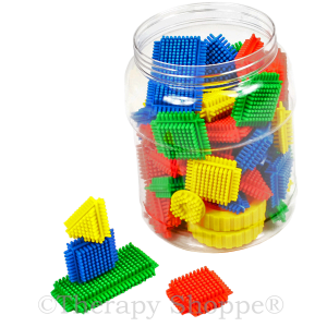 Prickly Tactile Tiles Building Set