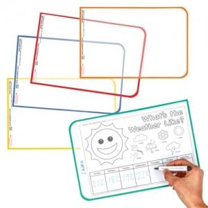 Wipe Clean Worksheet Covers