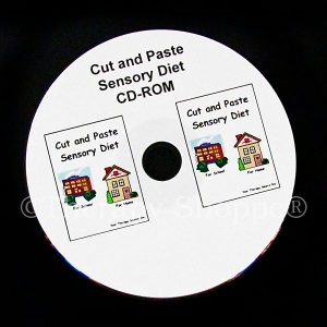 Cut and Paste Sensory Diet CD