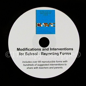 Super Sale Modifications and Interventions for School CD