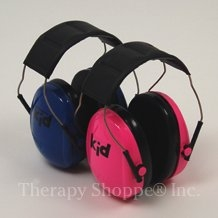 Blue or Pink Junior Earmuffs