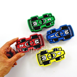 Race Car White Board Erasers