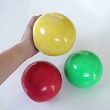 1.1 lb. Yellow Soft Weighted Ball