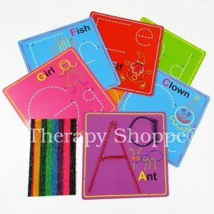 Wikki Stix Alphabet Cards Kit